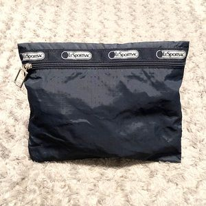 LeSportsac pouch paid $26 navy blue from Saks 5th